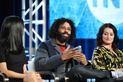 (L-R) Jennifer Connelly, Daveed Diggs and Alison Wright of 'Snowpiercer' speak during the TNT segment of the 2020 Winter Television Critics Association Press Tour at The Langham Huntington, Pasadena on January 15, 2020 in Pasadena, California.