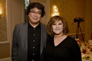 Director Bong Joon-ho and Universal's Amy Pascal attends the 20th Annual AFI Awards at Four Seasons Hotel Los Angeles at Beverly Hills on January 03, 2020 in Los Angeles, California.