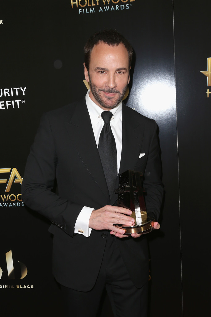 tom ford in 20th annual hollywood film awards press room. Black Bedroom Furniture Sets. Home Design Ideas