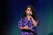 Alessia Cara performs onstage during the 20th annual Latin GRAMMY Awards at MGM Grand Garden Arena on November 14, 2019 in Las Vegas, Nevada.