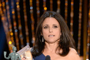 Actress Julia Louis-Dreyfus accepts the Outstanding Performance by a Female Actor in a Comedy Series award for 'Veep' onstage during the 20th Annual Screen Actors Guild Awards at The Shrine Auditorium on January 18, 2014 in Los Angeles, California.