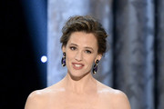 Actress Jennifer Garner speaks onstage during the 20th Annual Screen Actors Guild Awards at The Shrine Auditorium on January 18, 2014 in Los Angeles, California.