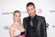 (L-R) Actors Kenzie Dalton and Chad Michael Murray  attend the 21st Annual Elton John AIDS Foundation Academy Awards Viewing Party at Pacific Design Center on February 24, 2013 in West Hollywood, California.