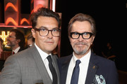Honoree Joe Wright, recipient of the Hollywood Director Award for 'Darkest Hour,' (L) and Honoree Gary Oldman, recipient of the Hollywood Career Achievement Award, attend the 21st Annual Hollywood Film Awards at The Beverly Hilton Hotel on November 5, 2017 in Beverly Hills, California.