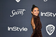 Kat Graham attends the 21st Annual Warner Bros. And InStyle Golden Globe After Party at The Beverly Hilton Hotel on January 05, 2020 in Beverly Hills, California.