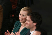 Actress Kate Winslet (L) and Ned Rocknroll attend The 22nd Annual Screen Actors Guild Awards at The Shrine Auditorium on January 30, 2016 in Los Angeles, California. 25650_018