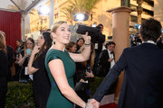 Actress Kate Winslet (L) and Ned Rocknroll during the 22nd Annual Screen Actors Guild Awards at The Shrine Auditorium on January 30, 2016 in Los Angeles, California.