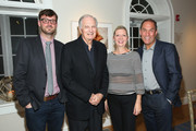 (L-R) Artistic Director of HIFF David Nugent, actor Alan Alda, HIFF Executive Director Anne Chaisson and HIFF Chairman Stuart Match Suna. attend  the Bridge Of Spies photo call Day 5 of the 23rd Annual Hamptons International Film Festival on October 12, 2015 in East Hampton, New York.