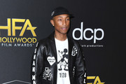 Pharrell Williams attends the 23rd Annual Hollywood Film Awards at The Beverly Hilton Hotel on November 03, 2019 in Beverly Hills, California.