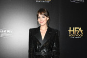 Dakota Johnson poses in the press room during the 23rd Annual Hollywood Film Awards at The Beverly Hilton Hotel on November 03, 2019 in Beverly Hills, California.