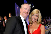 Actor Matt Walsh (L) and Morgan Walsh attend The 23rd Annual Screen Actors Guild Awards Cocktail Reception at The Shrine Auditorium on January 29, 2017 in Los Angeles, California. 26592_018