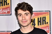 Noah Galvin attends 24 Hour Musicals at The Pershing Square Signature Center on June 17, 2019 in New York City.
