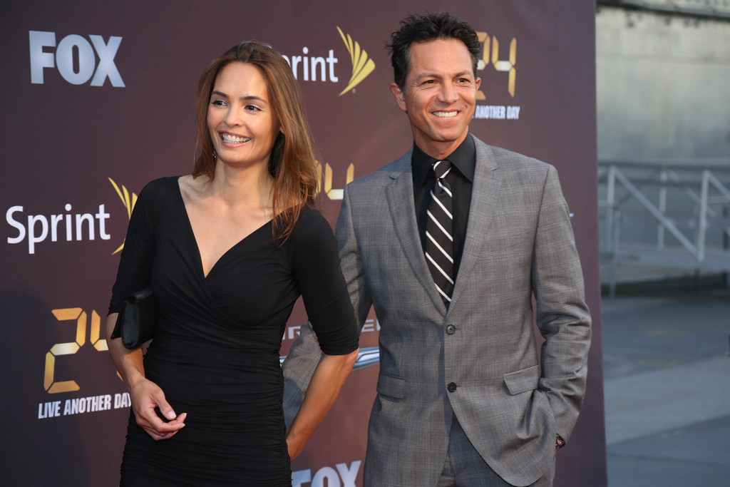 Benjamin bratt and wife
