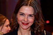 Susan Hoecke attends the '24 Wochen' premiere during the 66th Berlinale International Film Festival Berlin at Berlinale Palace on February 14, 2016 in Berlin, Germany.