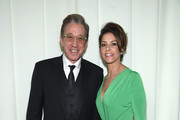 Actors Tim Allen (L) and Jane Hajduk attend the 24th Annual Elton John AIDS Foundation's Oscar Viewing Party at The City of West Hollywood Park on February 28, 2016 in West Hollywood, California.