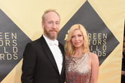 Actor Matt Walsh and Morgan Walsh attend the 24th Annual Screen ActorsGuild Awards at The Shrine Auditorium on January 21, 2018 in Los Angeles, California.