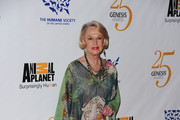 Actress Tippi Hedren arrives at the 25th Anniversary Genesis Awards held at the Hyatt Regency Century Plaza Hotel on March 19, 2011 in Los Angeles, California.