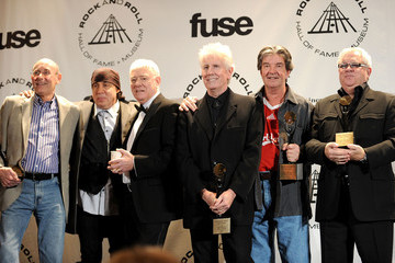 Allan Clarke 25th Anniversary Rock & Roll Hall Of Fame Induction Ceremony- Press Room