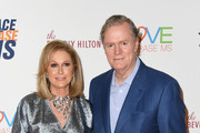 Kathy Hilton (L) and Rick Hilton attend the 25th Annual Race To Erase MS Gala at The Beverly Hilton Hotel on April 20, 2018 in Beverly Hills, California.