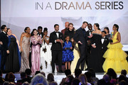 The cast of ?This Is Us? accepts Outstanding Performance by an Ensemble in a Drama Series onstage during the 25th Annual Screen Actors Guild Awards at The Shrine Auditorium on January 27, 2019 in Los Angeles, California. 480493