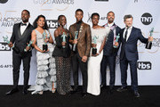 Sterling K. Brown and Chadwick Boseman Photos Photo