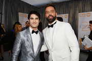 Darren Criss (L) and Ricky Martin attend the 25th Annual Screen ActorsGuild Awards at The Shrine Auditorium on January 27, 2019 in Los Angeles, California.