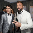 Ricky Martin and Darren Criss