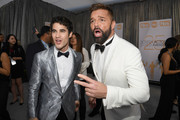 Darren Criss and Ricky Martin attend the 25th Annual Screen Actors Guild Awards at The Shrine Auditorium on January 27, 2019 in Los Angeles, California.