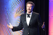 Actor Will Ferrell speaks onstage during the 26th American Cinematheque Award Gala honoring Ben Stiller at The Beverly Hilton Hotel on November 15, 2012 in Beverly Hills, California.