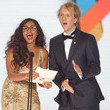 Josh Thomas and Jessica Mauboy Photos
