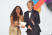 Josh Thomas and Jessica Mauboy Photos Photo