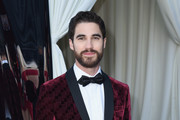 Darren Criss attends the 26th annual Elton John AIDS Foundation Academy Awards Viewing Party with cocktails by Clase Azul Tequila at The City of West Hollywood Park on March 4, 2018 in West Hollywood, California.
