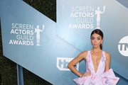 Sarah Hyland attends 26th Annual Screen Actors Guild Awards at The Shrine Auditorium on January 19, 2020 in Los Angeles, California.