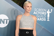 Charlize Theron attends 26th Annual Screen Actors Guild Awards at The Shrine Auditorium on January 19, 2020 in Los Angeles, California.