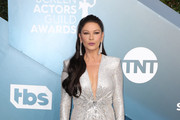 Catherine Zeta-Jones attends 26th Annual Screen Actors Guild Awards at The Shrine Auditorium on January 19, 2020 in Los Angeles, California.