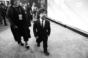 Image has been converted to black and white.) Peter Dinklage attends the 26th Annual Screen Actors Guild Awards at The Shrine Auditorium on January 19, 2020 in Los Angeles, California.