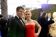 Stephen Moyer and Anna Paquin attend the 26th Annual Screen Actors Guild Awards at The Shrine Auditorium on January 19, 2020 in Los Angeles, California. 721384