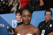 Lupita Nyong'o attends the 26th Annual Screen ActorsGuild Awards at The Shrine Auditorium on January 19, 2020 in Los Angeles, California. 721407