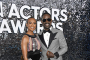 (L-R) Ryan Michelle Bathe and Sterling K. Brown attends the 26th Annual Screen ActorsGuild Awards at The Shrine Auditorium on January 19, 2020 in Los Angeles, California.