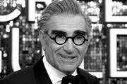 Image has been converted to black and white.) Eugene Levy attends the 26th Annual Screen Actors Guild Awards at The Shrine Auditorium on January 19, 2020 in Los Angeles, California.