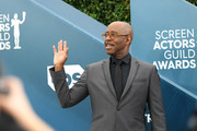 Courtney B. Vance, SAG-AFTRA Foundation President, attends the 26th Annual Screen ActorsGuild Awards at The Shrine Auditorium on January 19, 2020 in Los Angeles, California. 721384