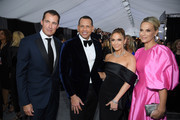(L-R) Scott Stuber, Alex Rodriguez, Jennifer Lopez, and Molly Sims attend the 26th Annual Screen ActorsGuild Awards at The Shrine Auditorium on January 19, 2020 in Los Angeles, California. 721407
