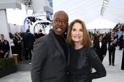 (L-R) SAG-AFTRA Foundation President Courtney B. Vance and SAG Awards Executive Producer Kathy Connell attend the 26th Annual Screen ActorsGuild Awards at The Shrine Auditorium on January 19, 2020 in Los Angeles, California. 721407