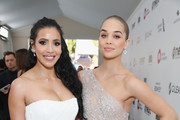 Julissa Bermudez and Jasmine Sanders attend the 27th annual Elton John AIDS Foundation Academy Awards Viewing Party sponsored by IMDb and Neuro Drinks celebrating EJAF and the 91st Academy Awards on February 24, 2019 in West Hollywood, California.