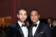 (L-R) Chace Crawford and Don Lemon attend the 27th annual Elton John AIDS Foundation Academy Awards Viewing Party sponsored by IMDb and Neuro Drinks celebrating EJAF and the 91st Academy Awards on February 24, 2019 in West Hollywood, California.