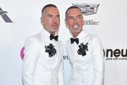 Dean and Dan Caten attend the 27th annual Elton John AIDS Foundation Academy Awards Viewing Party celebrating EJAF and the 91st Academy Awards on February 24, 2019 in West Hollywood, California.