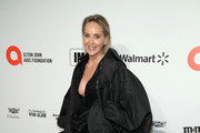Sharon Stone attends the 28th Annual Elton John AIDS Foundation Academy Awards Viewing Party sponsored by IMDb, Neuro Drinks and Walmart on February 09, 2020 in West Hollywood, California.