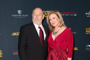 Corbin Bernsen (L) and Nancy Stafford (R) attend the 28th Annual Movieguide Awards Gala at Avalon Theater on January 24, 2020 in Los Angeles, California.