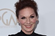 Actress Marilu Henner arrives on the red carpet for the 2017 Producers Guild Awards at the Beverly Hilton in Beverly Hills, California on January 28, 2017. / AFP / Chris Delmas