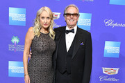 Margaret DeVogelaere, Peter Fonda arrives at the 29th Annual Palm Springs International Film Festival Film Awards Gala at Palm Springs Convention Center on January 2, 2018 in Palm Springs, California.